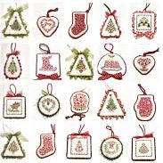 Christmas Ornaments Collection 11 by JBW Designs