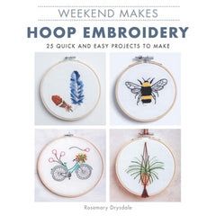 Weekend Makes: Hoop Embroidery by Rosemary Drysdale