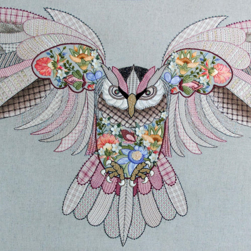 Crewel Creatures - Maureen The Owl Specialty Thread Pack