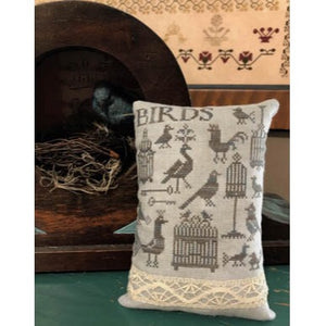 Antique Birds and Cages by Shakespeare's Peddler