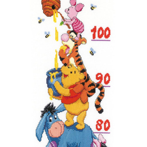 Disney Winnie and Friends Growth Chart by Vervaco - PN-0014848