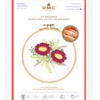 DMC Perle Effect 3D Embroidery Kit Wild Dahlias