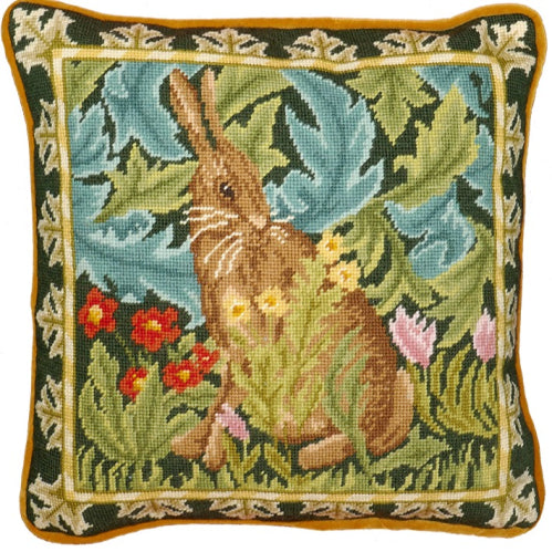 Woodland Hare Tapestry Cushion Kit by Bothy Threads