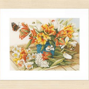 Daffodils and Tulips by Lanarte  PN-0154325
