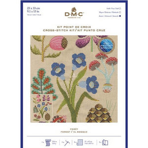 DMC Forest Counted Cross Stitch Kit