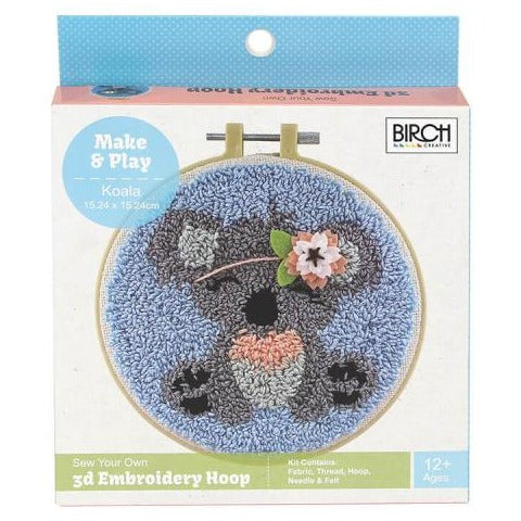 Punch needle Kit Koala by Birch