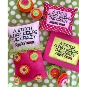 A Stitch A Day Keeps the Crazy Away by Amy Bruecken