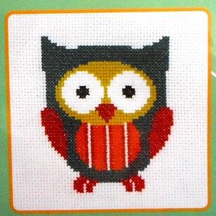Make It Stripey Owl kit