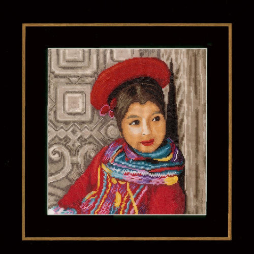 Peruvian Girl by Lanarte  PN-0149286