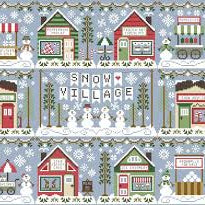Snow Village by Country Cottage Needleworks