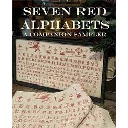 Seven Red Alphabets by Needle Work Press