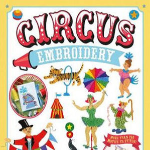 Circus Embroidery by Susie Johns