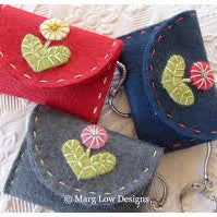 Key Case Pattern by Marg Low Designs includes Snake Key Ring