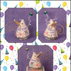 Birthday Mouse by Just Nan (Limited Edition Mouse)