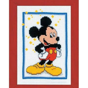 Mickey Mouse Disney Counted Cross Stitch Kit by Vervaco - PN0014670