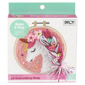 Punch needle Kit Unicorn by Birch