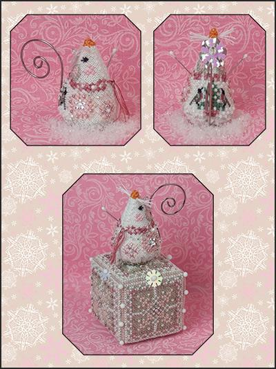 Crystal Snowlady Mouse by Just Nan