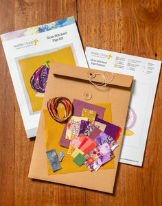 Figs Slow-Stitching Kit by Wattle & Loop