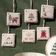 Christmas Treasures Ornaments by Dames of the Needle