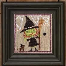 Broom Witch And Mousie By Brent Creek
