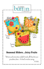 Juicy Fruits-Summer Treats Seasonal Slider