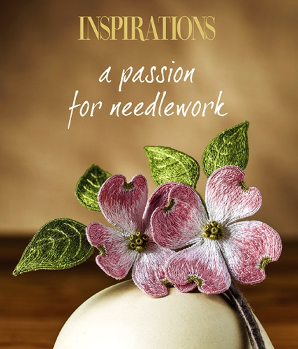 A Passion For Needlework (Hardcover) by Inspirations