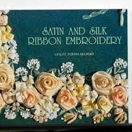 Satin And Silk Ribbon Embroidery by Lesley Turpin-Delport