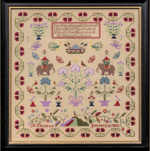 A Thomas 1882 ~ The Nellies by Hands Across The Sea Samplers