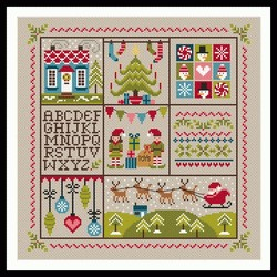 Holly Jolly Christmas by Little Dove Designs
