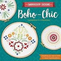Embroidery Designs Boho Chic by Kelly Fletcher