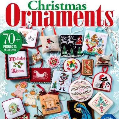 Just Cross Stitch Christmas Ornaments 2019