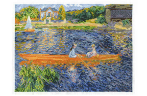 Renoir The Skiff Cross Stitch Kit