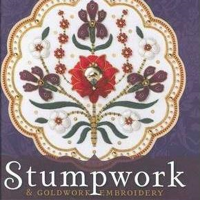 Stumpwork And Goldwork Embroidery Inspired By Turkish, Syrian And Persian Tiles By Jane Nicholas