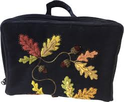 Acorn Sewing Bag By Windflower Embroidery