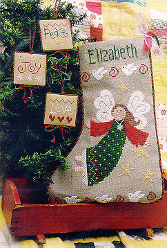 Angel Stocking By Lizzie Kate