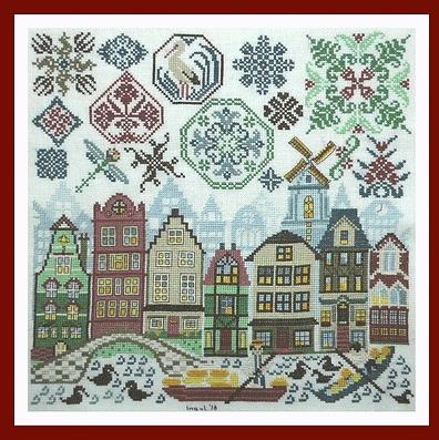 Quakers in Holland by Tempting Tangles Designs