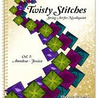 Twisty Stitches: String Art for Needlepoint Volume 1 by Rainbow Gallery