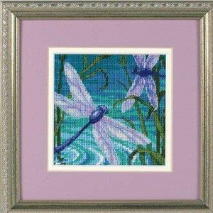 Dragonfly Pair Needlepoint Kit by Dimensions