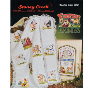 Stoney Creek Farm Babies Cross Stitch Books