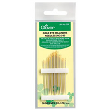 Clover Gold Eye Miliners Needles