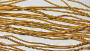 Goldwork Threads - Gilt Rough Purl