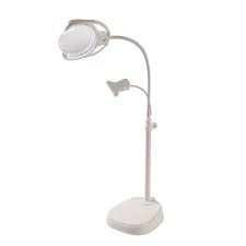 Led Rechargeable Lamp With Magnifier And Clip