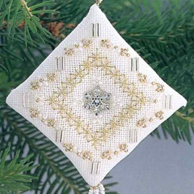 Tiny Treasured Diamond by Mill Hill -Crystal Snowflake