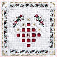 Christmas Heart Beyond Cross Stitch by Victoria Sampler