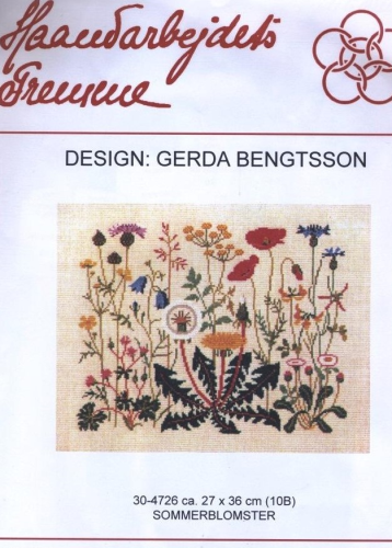 Gerda Bengtsson Danish Embroidery