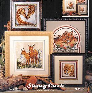 Stoney Creek Born In The Wild Cross Stitch Books