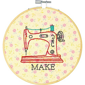 """Make"" Embroidery Kit by Dimensions"