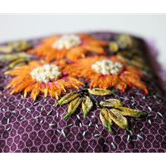 Gaillardes Cushion By Cecile Franconie