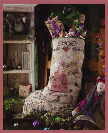 Sadie's Stocking By Shepherd's Bush - Chart and Charm Pack