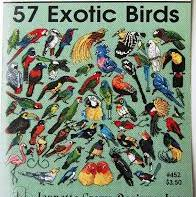 57 Exotic Birds By Jeanette Crews Designs